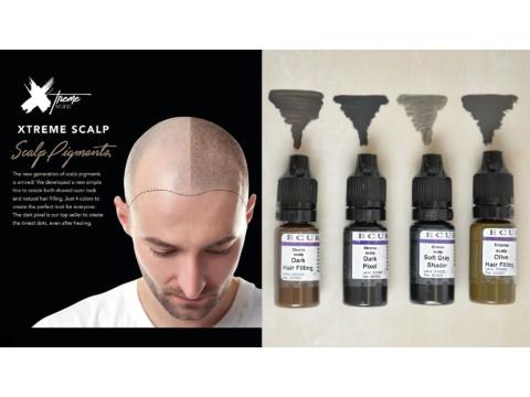 Extreme Scalp organikus hajpigmentek, a fejbőrpigmentek legújabb generációja!
