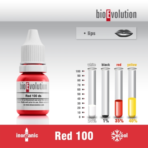 Pigment RED 100 / 10ml