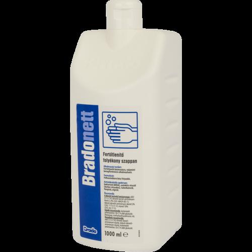 BradoNETT fertőtlenítő folyékony szappan 1000ml