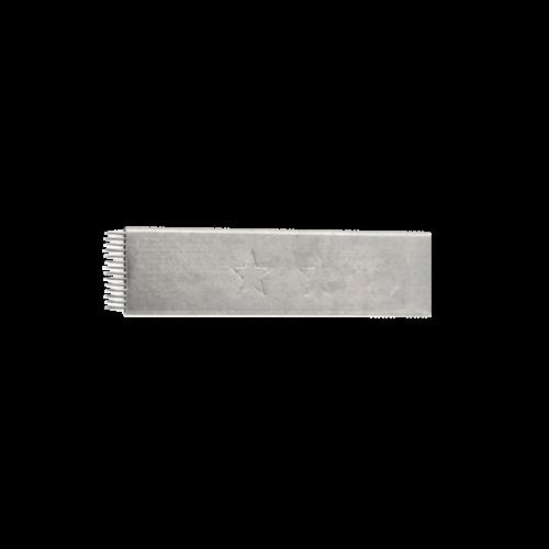 Microblading tű 14 FLAT fém borítású 10db