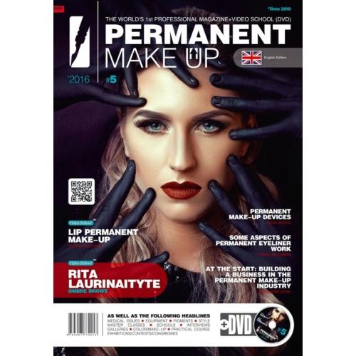 Permanent Make up Magazin 2016/5. Magyar fordítással