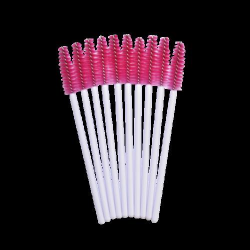 Egyszer használatos szempillaspirál pink/fehér 50db