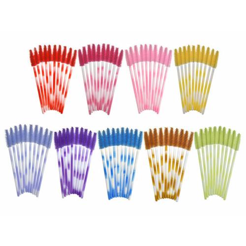 Egyszer használatos szempillaspirál vegyes színes 50db