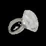 Kép 1/4 - Ragasztó tartó kristály gyűrű