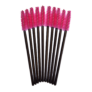 Kép 1/2 - Egyszer használatos szempillaspirál pink/fekete 80db